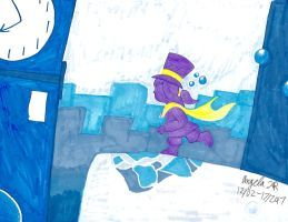 Blue Time Rift By Cherishedrose A Hat In Time Empty Inside Disney Characters