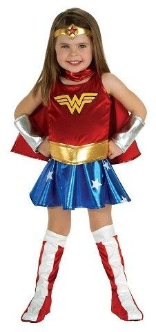 Toddler Girls Dc Super Hero Girls Wonder Woman Costume 2t Disfraz Mujer Maravilla Disfraz Mujer Maravilla Nina Traje Mujer Maravilla