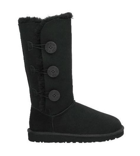 UGG Australia Cardy Knit Tall Boots Sz 8 Black Authentic 3
