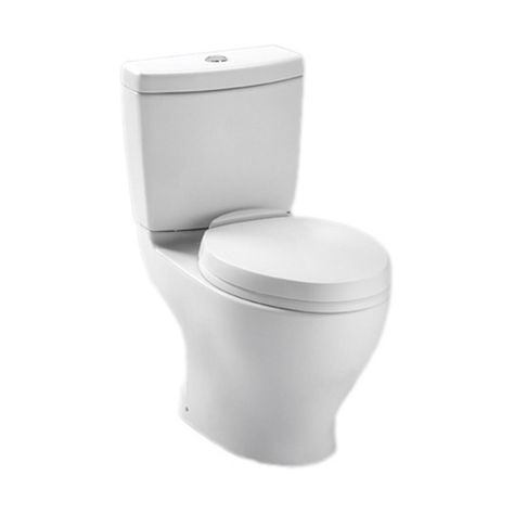320 Toto Cst412mf 10no 01 Aquia Dual Flush Toilet 1 6 Gpf And 0 9 Gpf With 10 Inch Rough In Cotton Two Pie Dual Flush Toilet Toto Toilet One Piece Toilets