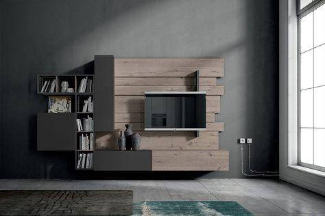 Fimar Mobili le mille idee per il soggiorno Arredamento - wohnzimmer industrial style