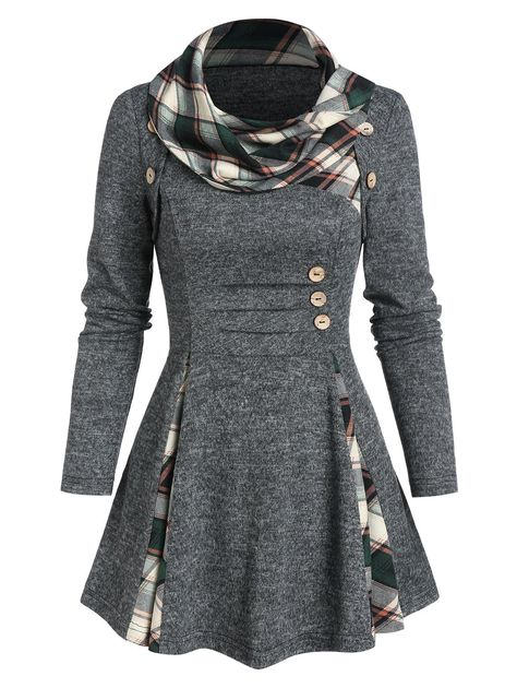 JoCome Mens Gradient Autumn Blouse Coat Casual Loose Long Sleeve Shirt