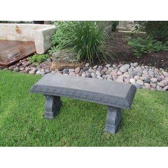 Liselle Seating Collection In 2020 Stone Garden Bench Outdoor Garden Bench Raised Garden Beds Diy