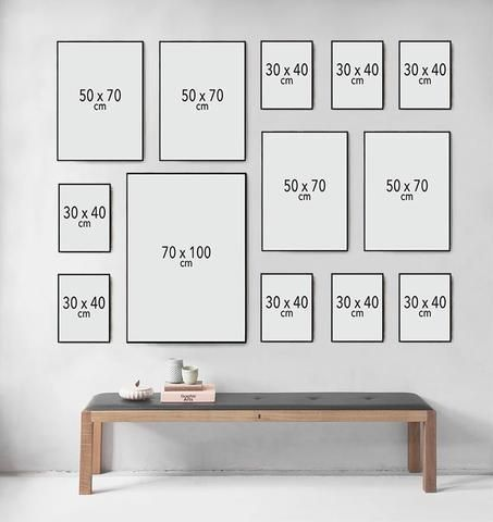 Vissevasse Billedvg Perfekte Laver Guide Sdan Check Billedvg Check Guide Laver Perfekte In 2020 Photo Wall Decor Inspiration Wall Gallery Wall Layout