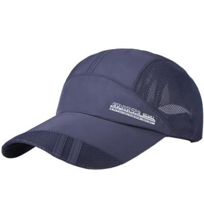 Fashion Quick Drying Summer Baseball Cap Men Bone Feminino Breathable Women Snapback Sun Cap for Summer