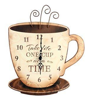 Charming Hot And Unique Coffee Wall Decor Home Wall Art Decor Coffee Wall Decor Coffee Decor Kitchen Coffee Clock