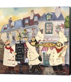 Metaverse Italian Chefs Ii By Jean Plout Canvas Art Reviews Wall Art Macy S In 2021 Italian Chef Vintage Italian Posters Canvas Art