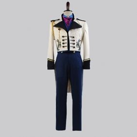 New Hansom Prince Hans Movie Tuxedo Suit Cosplay Fancy Dress Costume Halloween