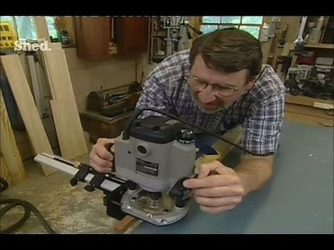 How to Use a Router (Part 1) really good instructor