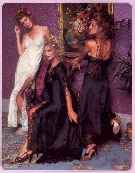These Photos Show The Entire 1979 Victoria's Secret Catalog -vintage, Victoria's Secret