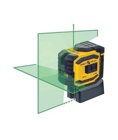 The Stabila Lax 300g Green Beam Cross Line Dot Laser Is A Versatile And Reliable Self Leveling Laser Ideal For A Wi Window Fitting Beams Drywall Construction