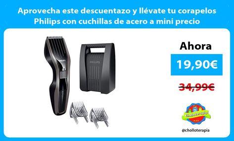 Aprovecha Este Descuentazo Y Llevate Tu Corapelos Philips Con Cuchillas De Acero A Mini Precio En 2020 Mini Acero Aprovechado
