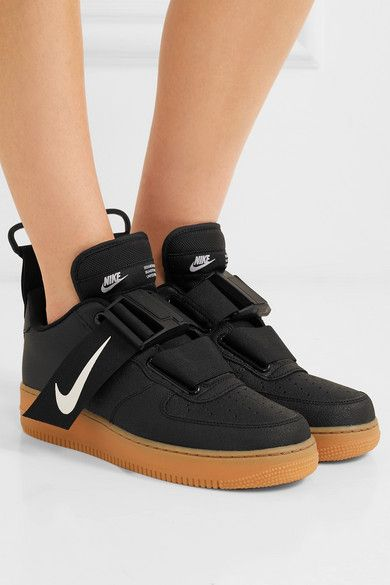 Nike Air Force 1 Utility Pique Smooth And Textured Leather