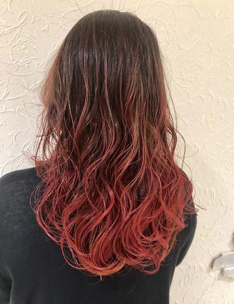 髪色 トレンド ヘアカラー グラデーションカラー インナーカラー 外国