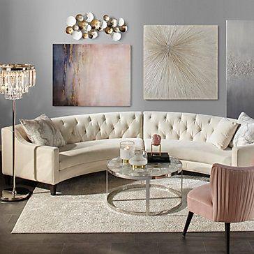 Luxe Crystal Floor Lamp Living Room Furniture Inspiration Living Room Decor Modern Living Room Designs