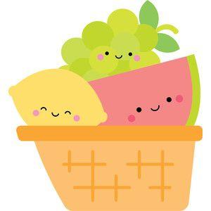 Fruit Basket Sweet Summer Com Imagens Desenhos De Frutas