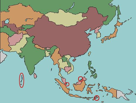 Worksheet. Test your geography knowledge Asian countries quiz from Lizard
