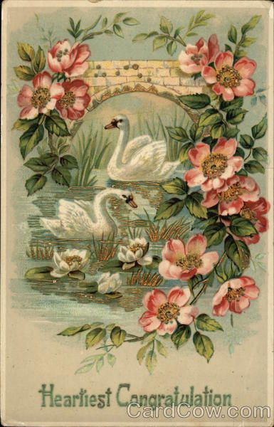 Антикварные марки открытки, воскресенье открытки
