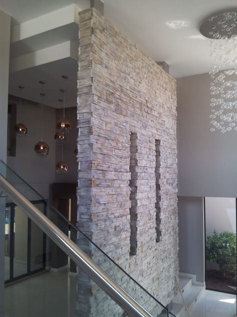 Wande Mit Stein Verkleiden Diese 15 Ideen Sind Traumhaft Schon Modern Lighting Modern Modern Interior