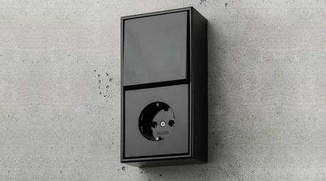 Jung Ls 990 Aufputz Design Wurfeldesign Steckdosen Und Lichtschalter Schalter Und Steckdosen