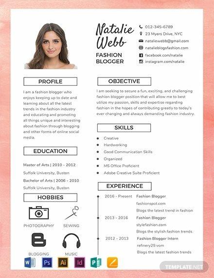 Free Best Fashion Cv Template Word Psd Indesign Desain Cv Cv Kreatif Desain Resume
