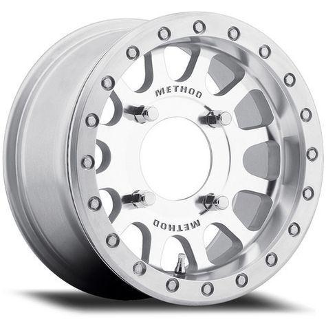 5+2 Method 401 Beadlock Machine Face Finish ATV//UTV RZR Wheel 14x7 4//156