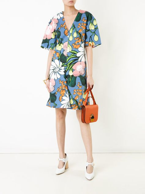 e516beb176 Marni Madder Print Dress