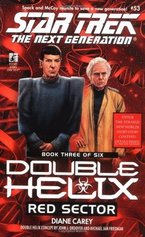 53 Double Helix Book 3 Red Sector Star Trek Books Star Trek Cool Books