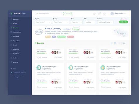 Course Web Application Design