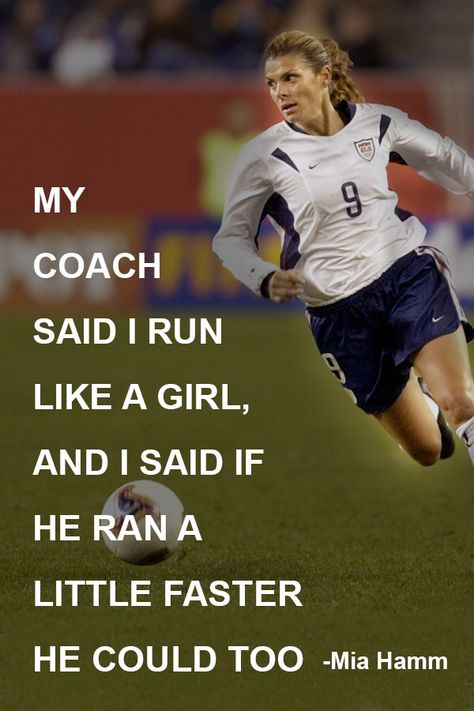 The game of soccer is a great teacher of life lessons that your daughter can use in many areas.Use these soccer quotes for girls to teach our children well. Soccer Jokes, Soccer Pro, Soccer Drills, Soccer Tips, Soccer Cleats, Messi Soccer, Soccer Stuff, Soccer Sports, Nike Soccer
