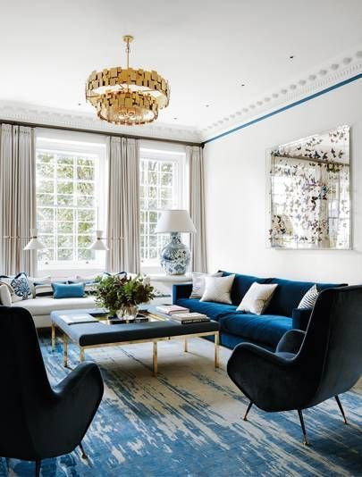 Create A More Luxurious Looking And Feeling Living Room With These Key Design Principles And Ideas Dining Room Victorian Living Room Color Living Room Colors