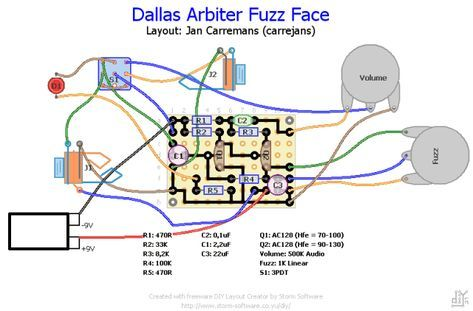 dallas arbiter fuzz face  diy