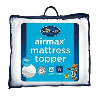Silentnight Airmax Mattress Topper 3cm Deep Single Double King Or Super K Ebay In 2020 Mattress Topper Silentnight Mattress