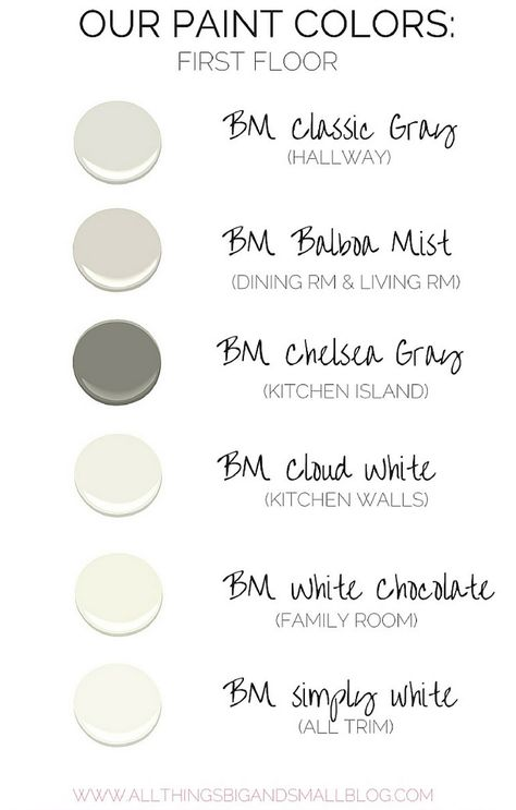 Interior and exterior paint colours for the home #shadesofroombyroompaintcolours