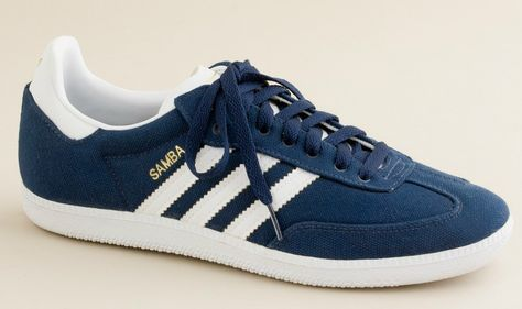 adidas Canvas Samba Sneakers | Sneakers, Running shoes for