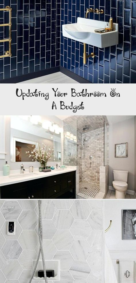 Updating Your Bathroom On A Budget In 2020 Budget Bathroom Bathroom Design Big Bathrooms