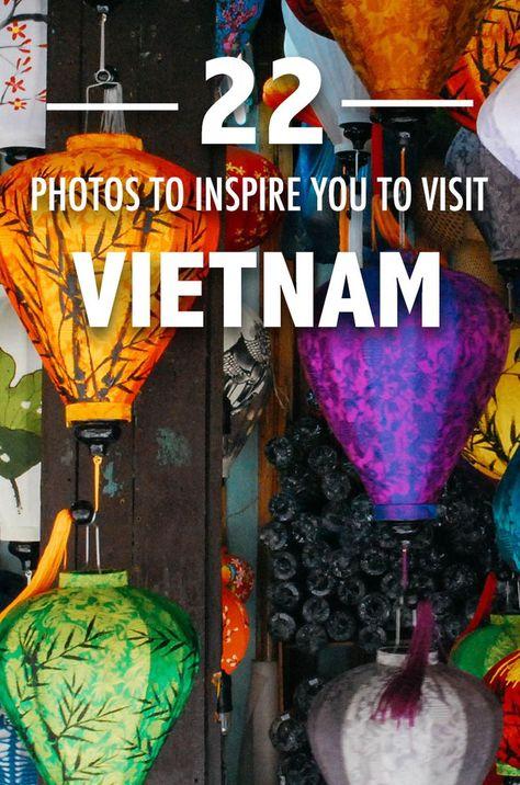 Gorgeous photos of Vietnam to inspire you to travel.