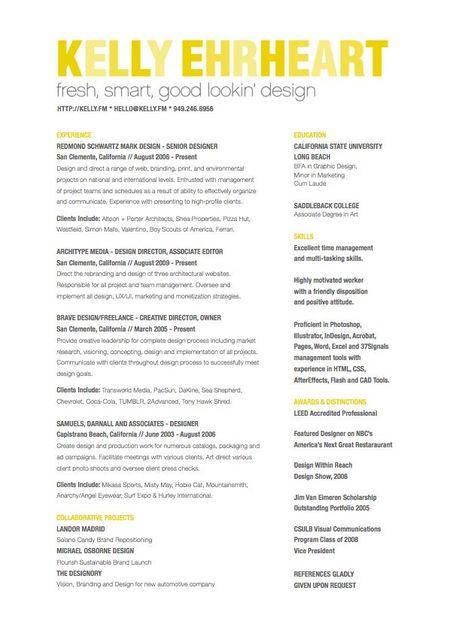 fresh smart good looking design Unique Resume Samples ygRvHMdA