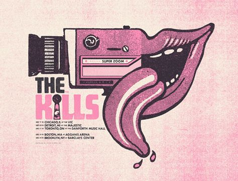 The Kills · Your Cinema · Online Store Powered by Storenvy