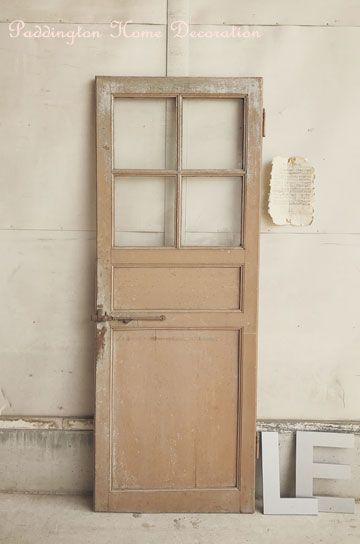 フレンチ格子窓パネルドア パディントン アンティーク家具 格子
