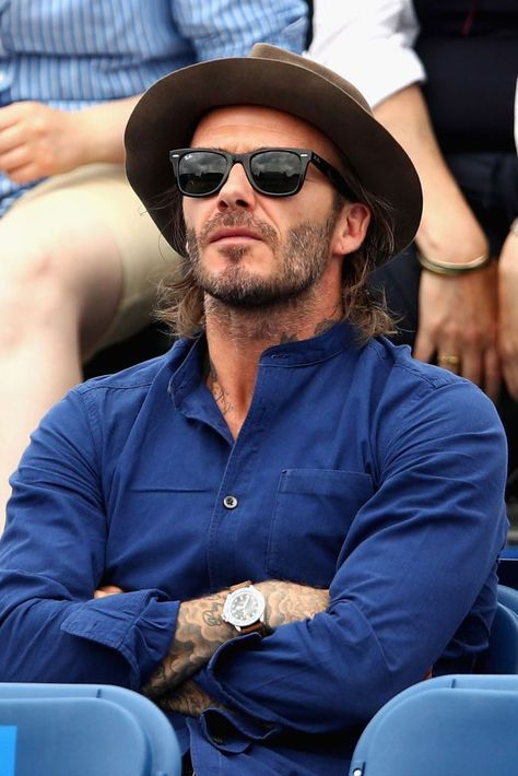 eb3cdde24fdb 10 Style Moves You Should Steal From David Beckham   Hats   Дэвид ...
