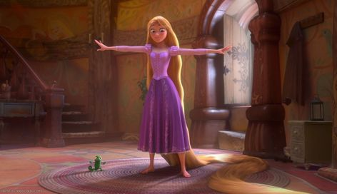 Tangled Rapunzel Short Hair | ... Heroine Hair Color Change Game Round 8: Rapunzel (Tangled) [Long hair
