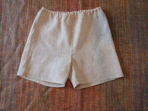 Mens linen boxer shorts f9227feced08