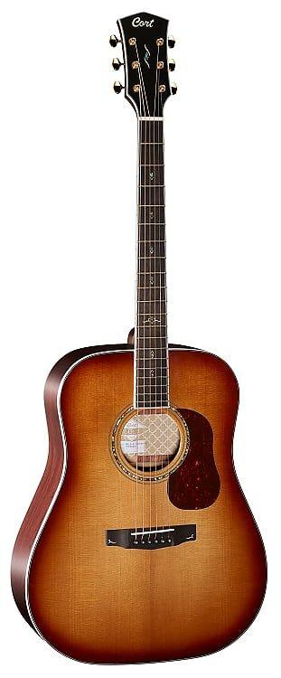 Cort Gold D8 Dreadnought Acoustic Guitar Ultratone Guitars Reverb Guitar Acoustic Guitar Acoustic