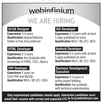 Opening for Software Developers APPLY FOR BEST JOBS Pinterest - ios developer resume