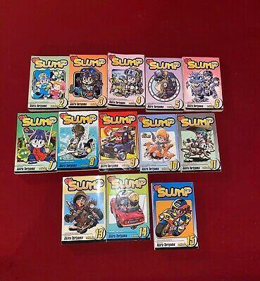 Ad Ebay Url Dr Slump Manga Viz Med Lot Of 13 2 11 13 15 Near Complete Set English Shonen Shonen Manga Manga Books