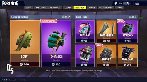 Imagine if we could buy Backbling from the store! Which would you buy