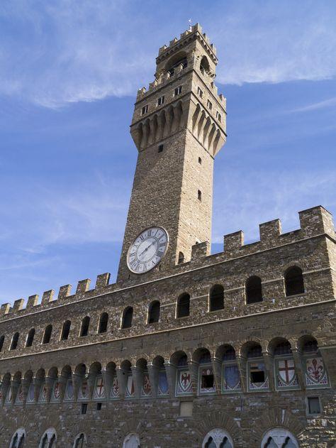 Palazzo Vecchio Visto Dalla Terrazza Degli Uffizi Places