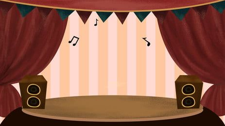Blue Curtain Stage Background Free Background Photos Stage Background Cartoon Background