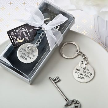 Party Favor Custom Set of 20 Key Fobs Key Ring Party Favors Wedding Team Gift Baby Shower Favor Key Ring Set Custom Key Fobs Preppy Key Ring